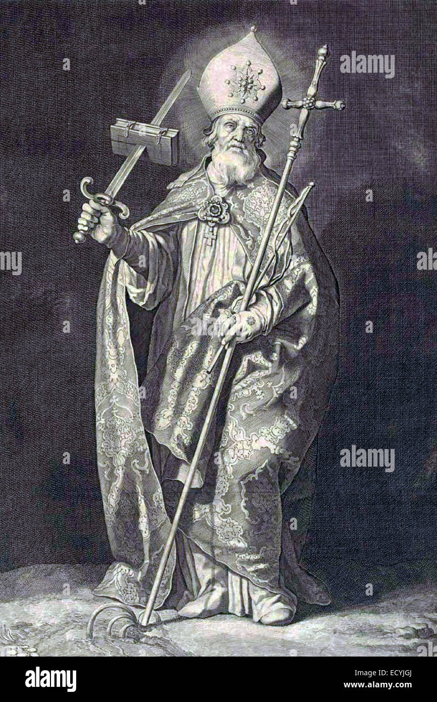 Saint Boniface - Stock Image