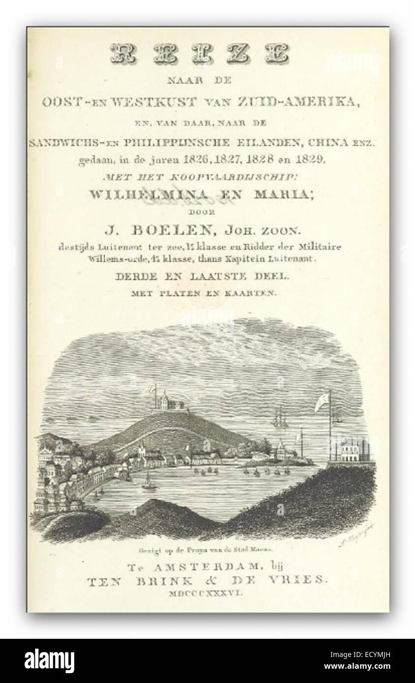 BOELEN(1836) T3 - Stock Image