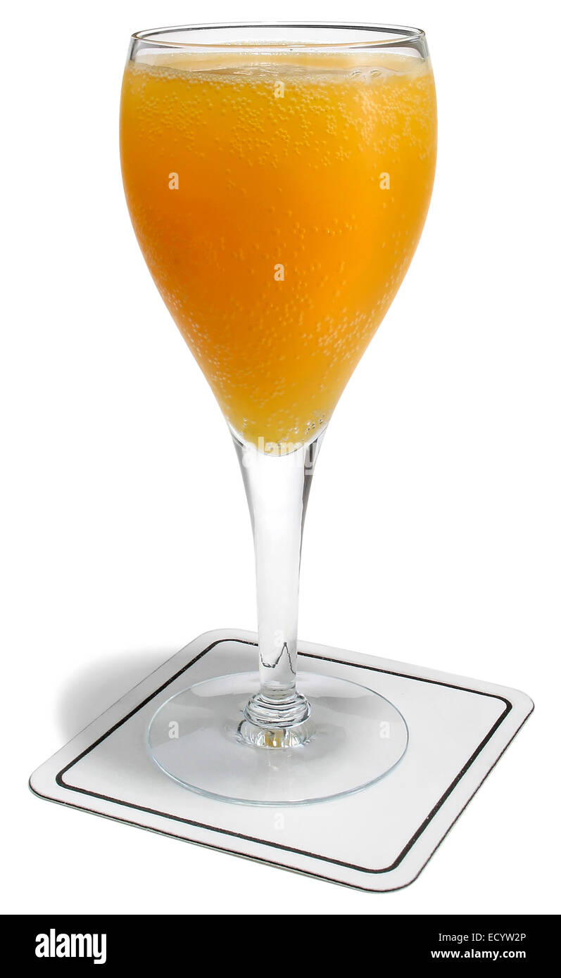 orange spritzer Stock Photo