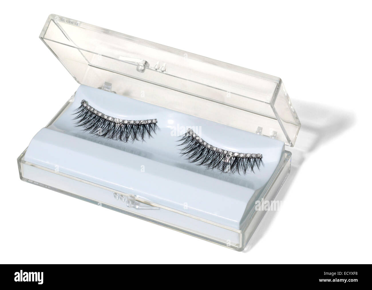 False Eyelashes Cut Out Stock Images Pictures Alamy