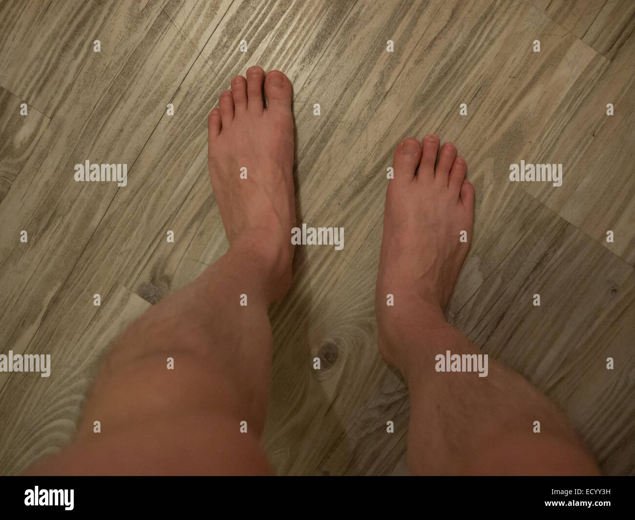 bare feet - Stock Image