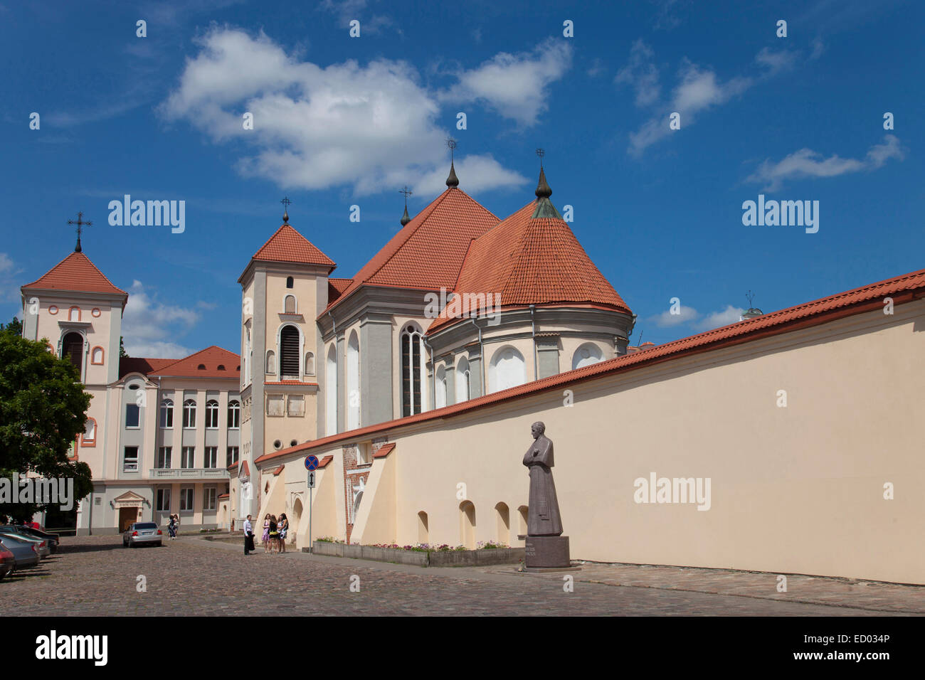 Lithuania, Kaunas, Priest seminary, - Stock Image