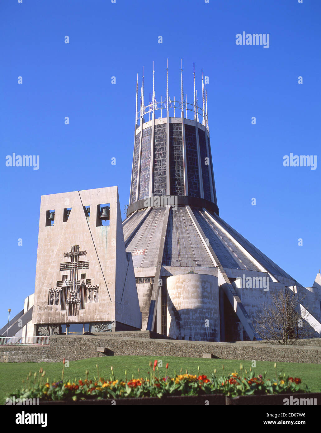 Liverpool Metropolitan Cathedral, Liverpool, Merseyside, England, United Kingdom - Stock Image