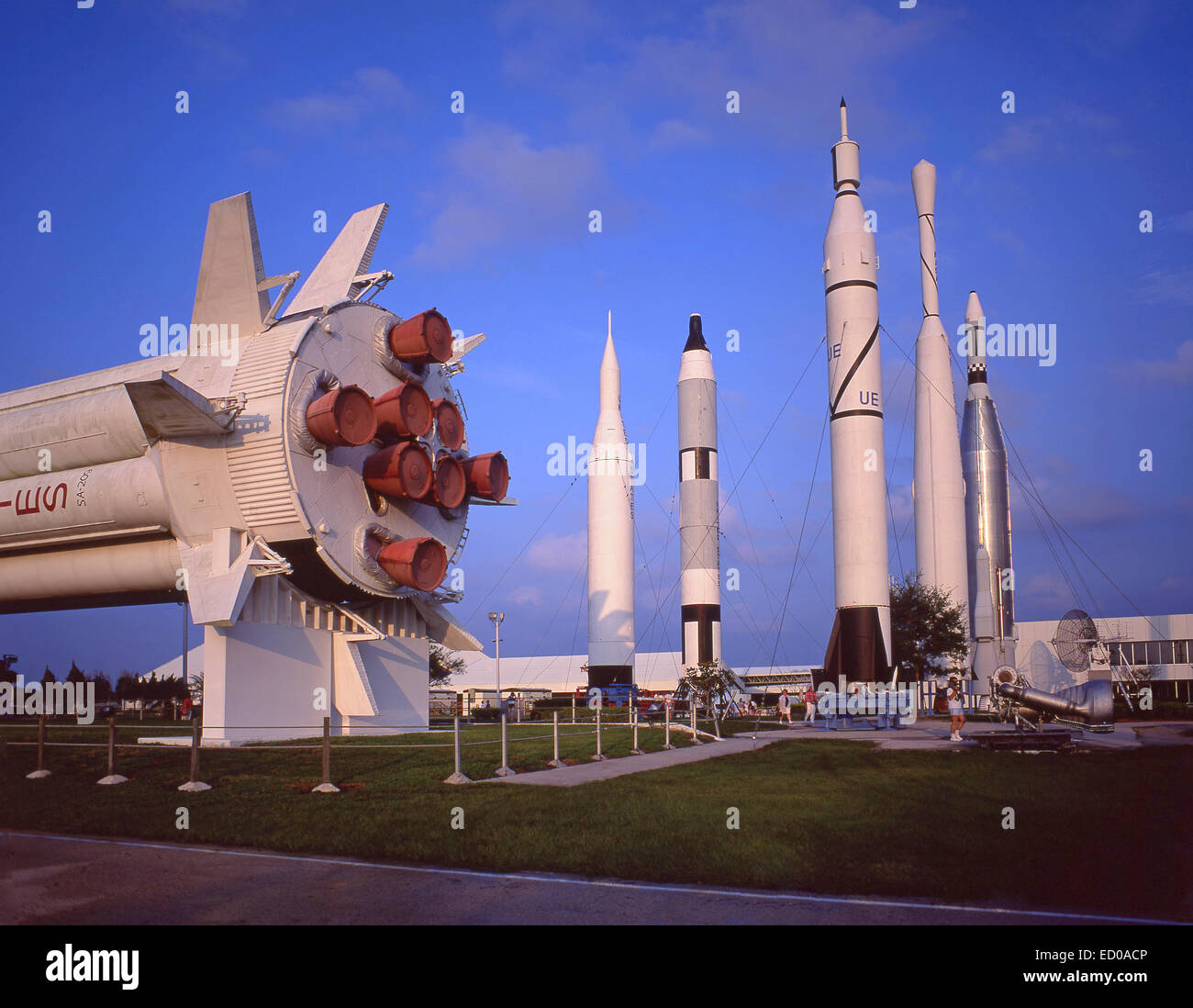 Spaceport USA, J.F.Kennedy Space Center, Merritt Island, Florida, United States of America - Stock Image