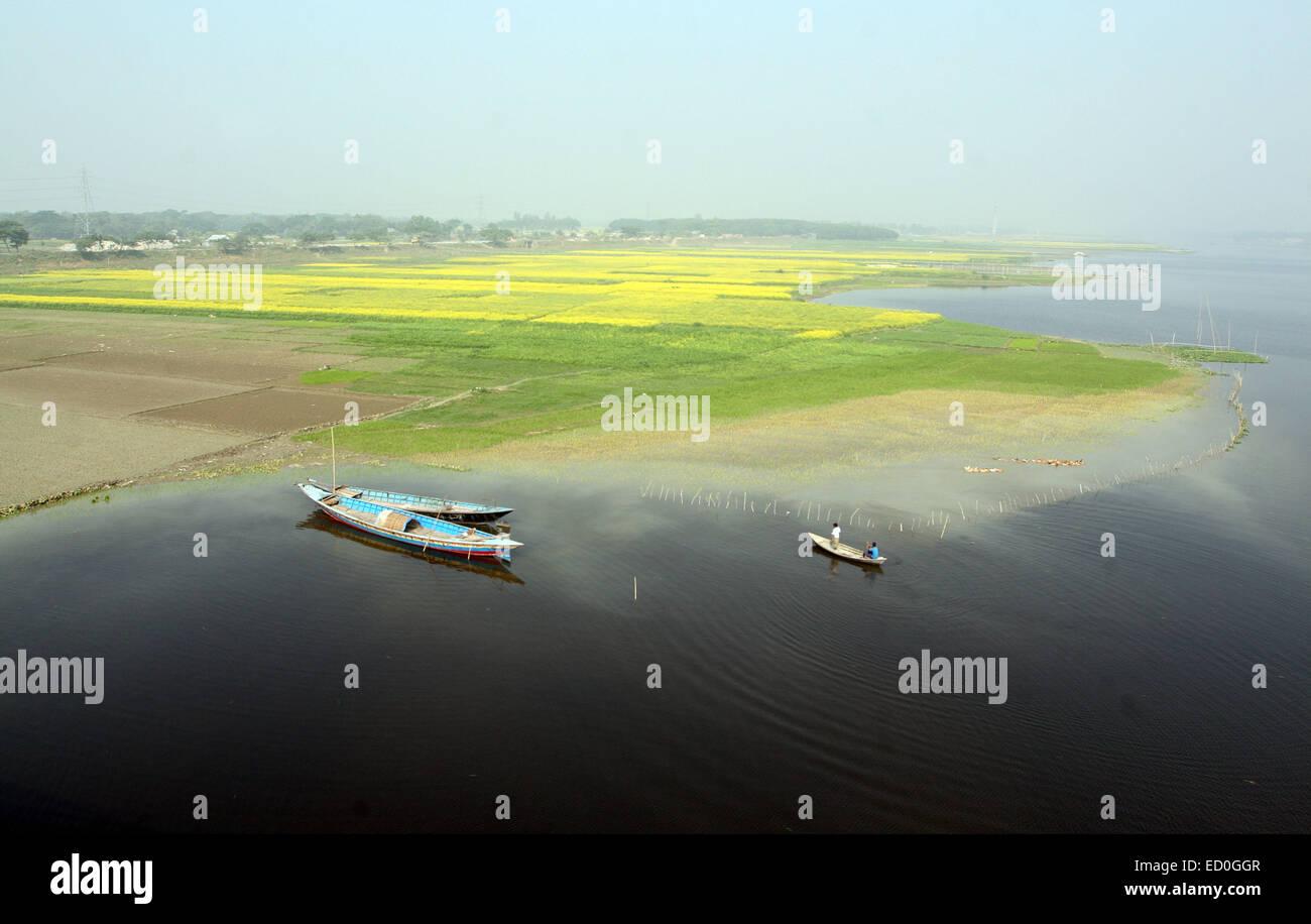 DHAKA 22 December 2014. Landscape Bangladesh. - Stock Image