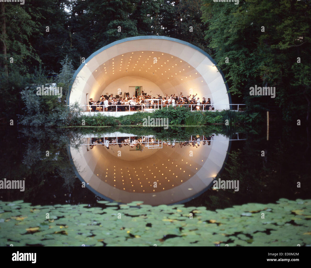 'Live by the Lake' Concert, Kenwood House, Hampstead Heath, Hampstead, Borough of Camden, London, England, - Stock Image