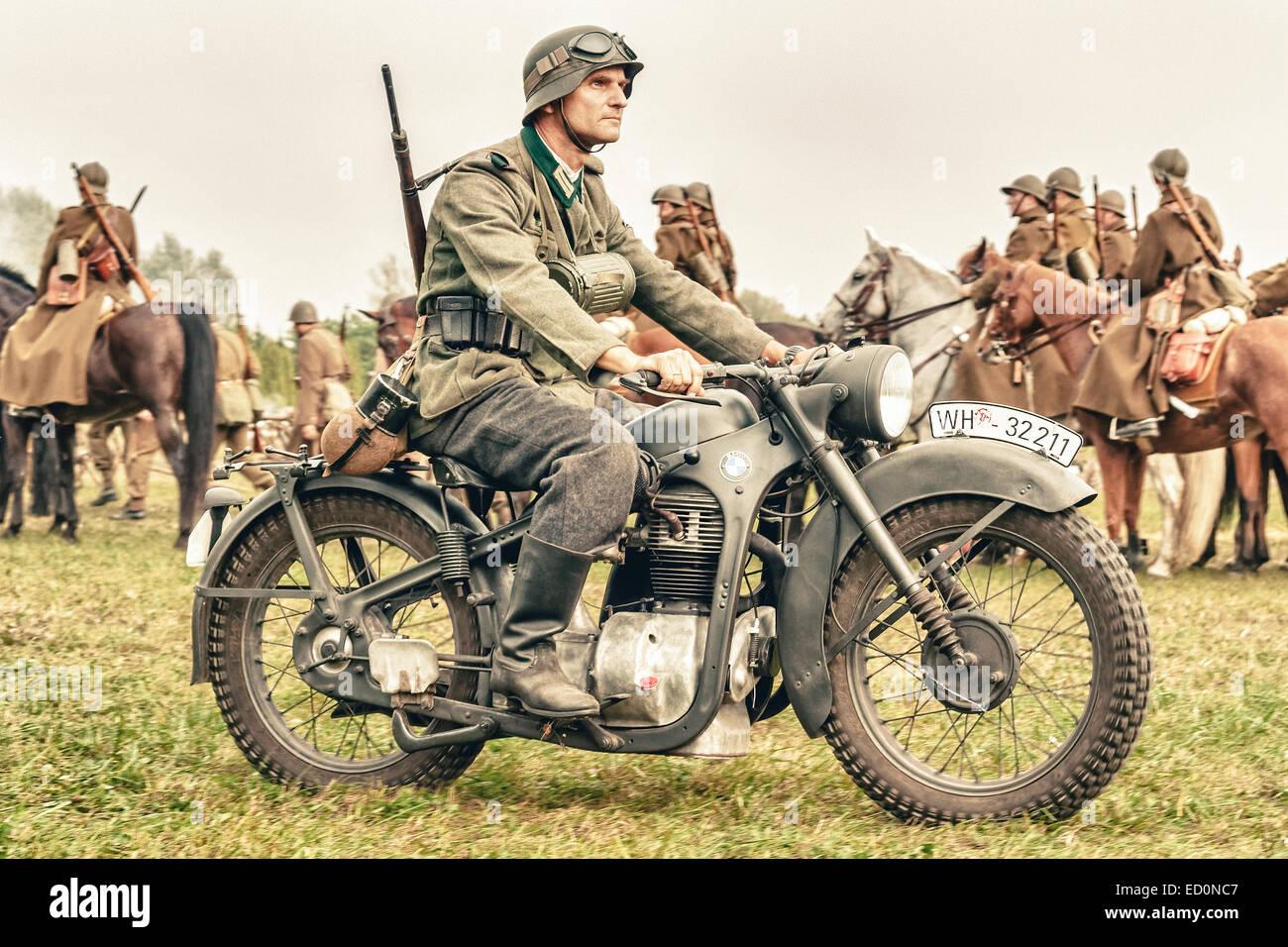 Ww2 German Bmw Motorcycles