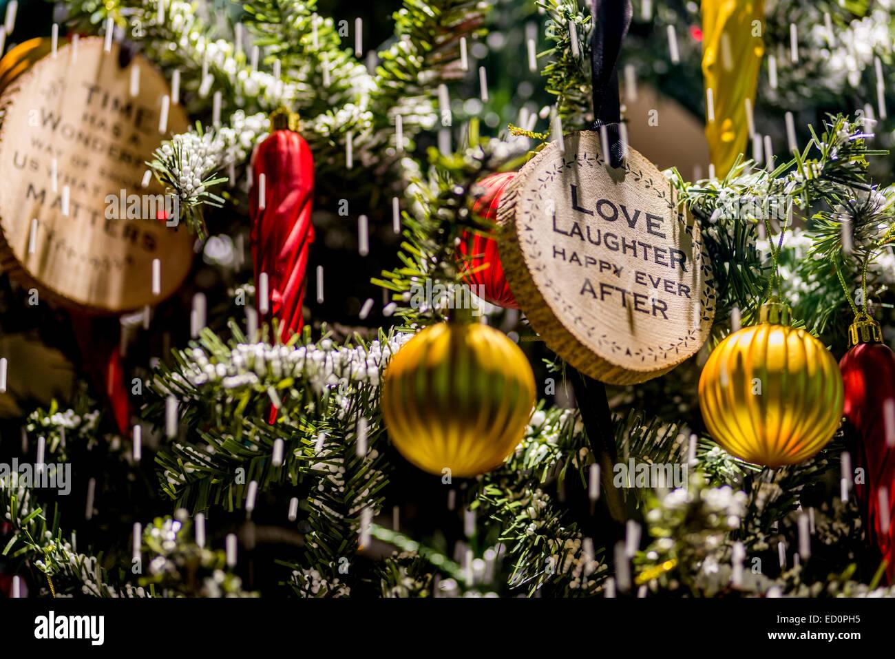 Christmas greetings on a christmas tree wish you all merry christmas greetings on a christmas tree wish you all merry christmas and happy new year m4hsunfo