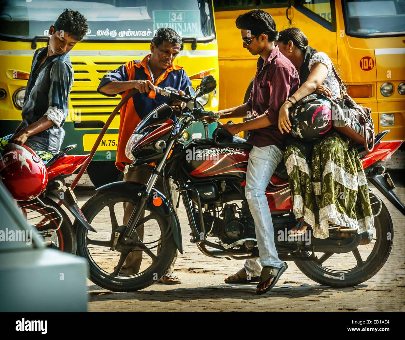 india couple bike stock photos india couple bike stock images alamy