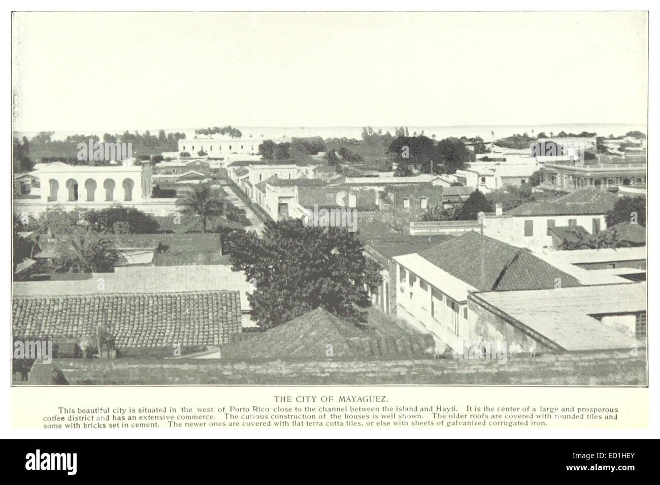 The city of Mayaguez - Stock Image