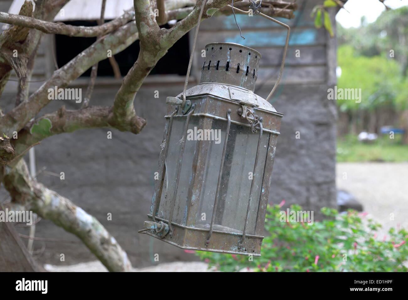 Lantern-Lamen Bay-Vanuatu - Stock Image