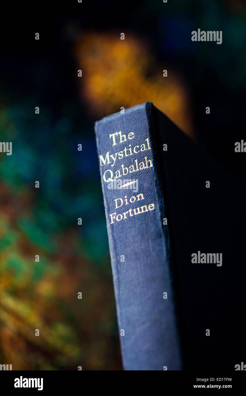 The mystical Qabalah book - Stock Image