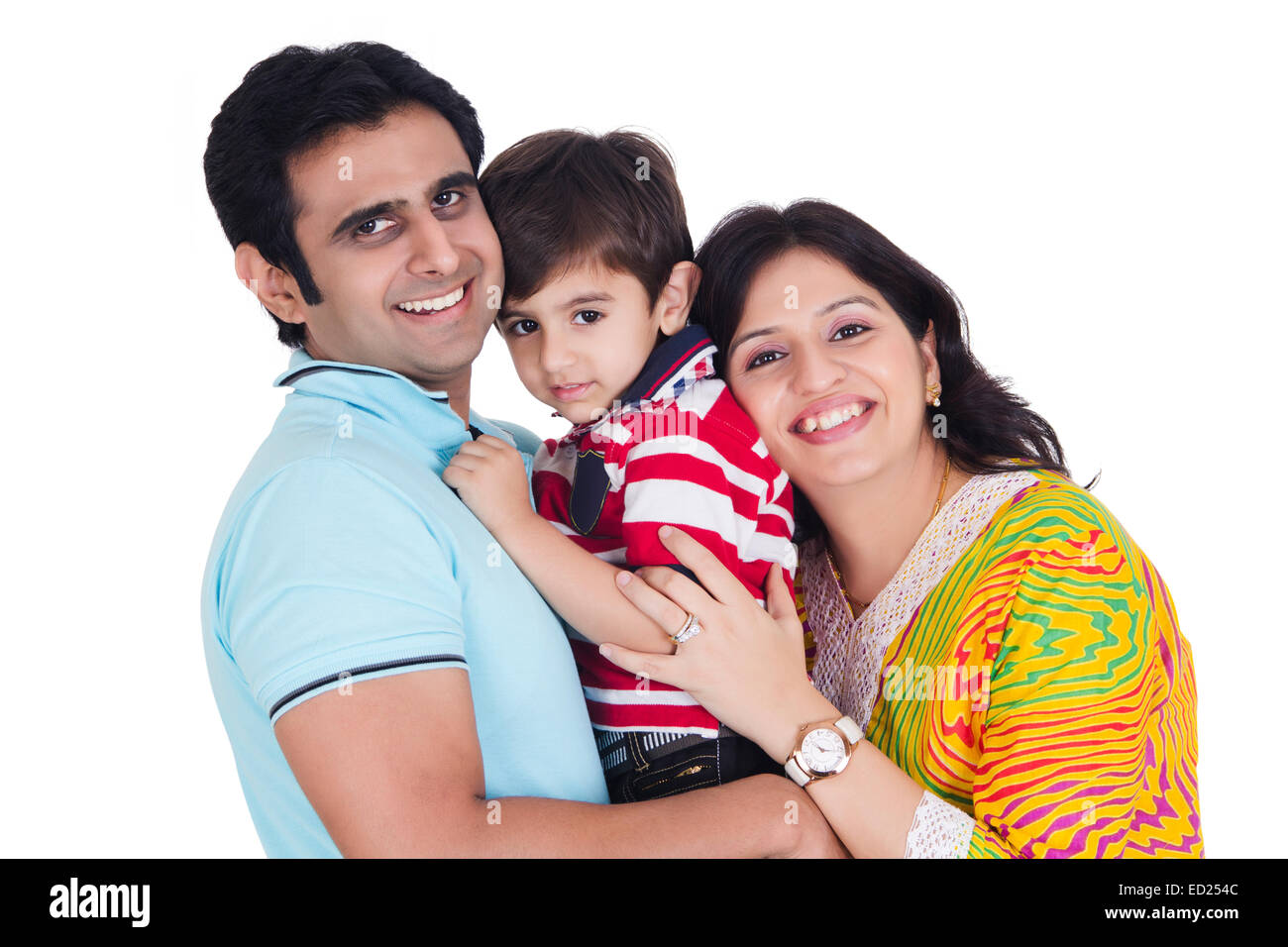 indian Parents with child care Stock Photo: 76879948 - Alamy