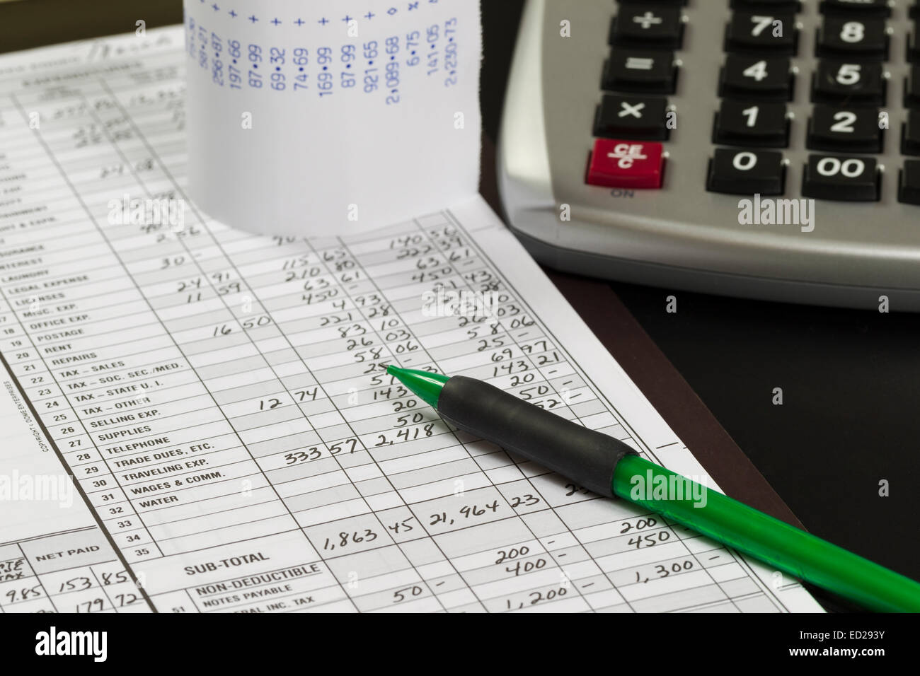 accounting ledger book stock photos  u0026 accounting ledger