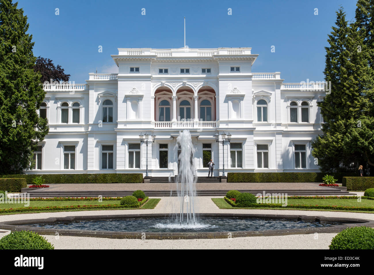 Villa Hammerschmidt in Bonn since 1950 and official residence of the German President, since 1994, secondary residence - Stock Image