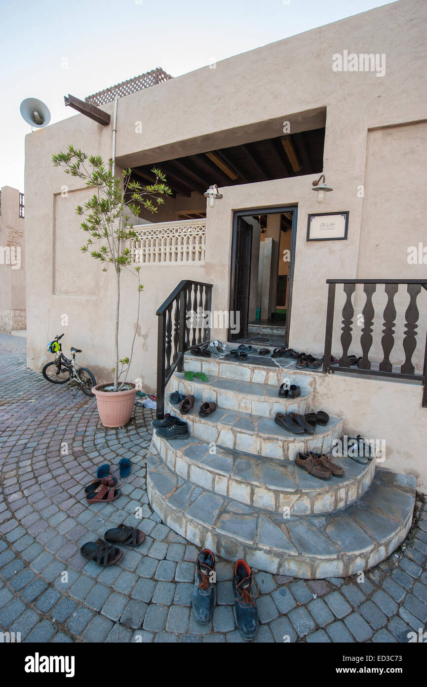 Heritage Village in Dubai, U.A.E Stock Photo