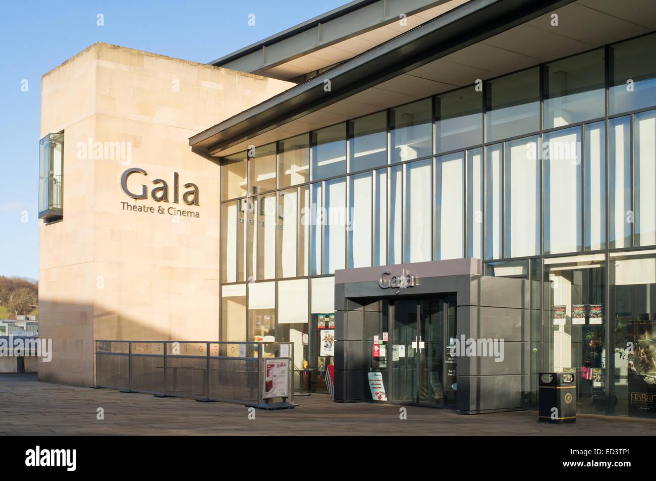Entrance To Durham Gala Theatre Durham City North East England Uk