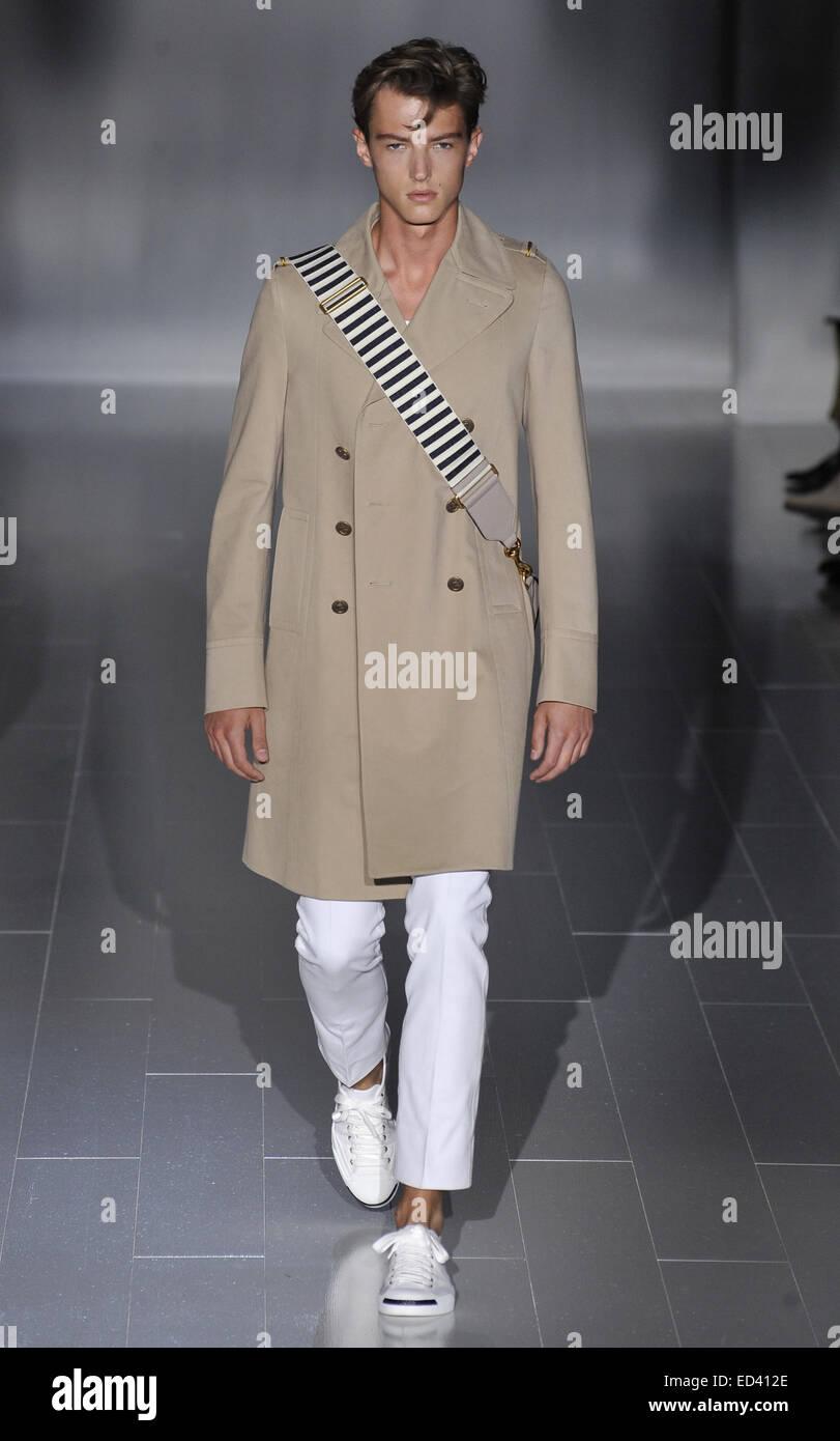 a4c433341cf Milan Fashion Week Men s Ready-to-Wear Spring Summer 2015 - Gucci - Catwalk  Featuring  Model Where  Milan