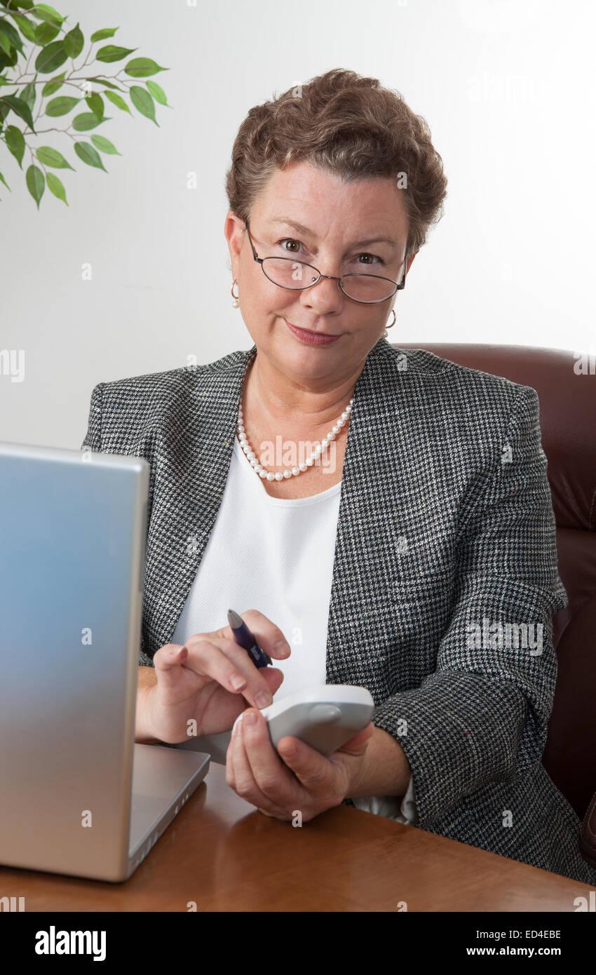Granny has nice tits