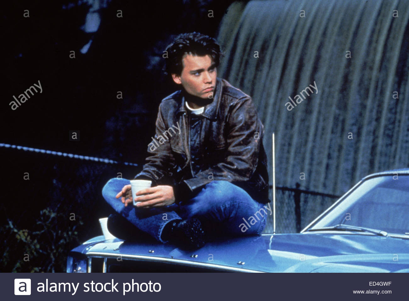 21 JUMP STREET (circa 1980s) Pictured:  Johnny Depp.  Courtesy Granamour Weems Collection.  Editorial use only. - Stock Image