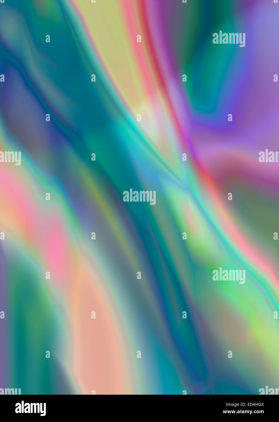 Glossy colorful abstract background - Stock Image