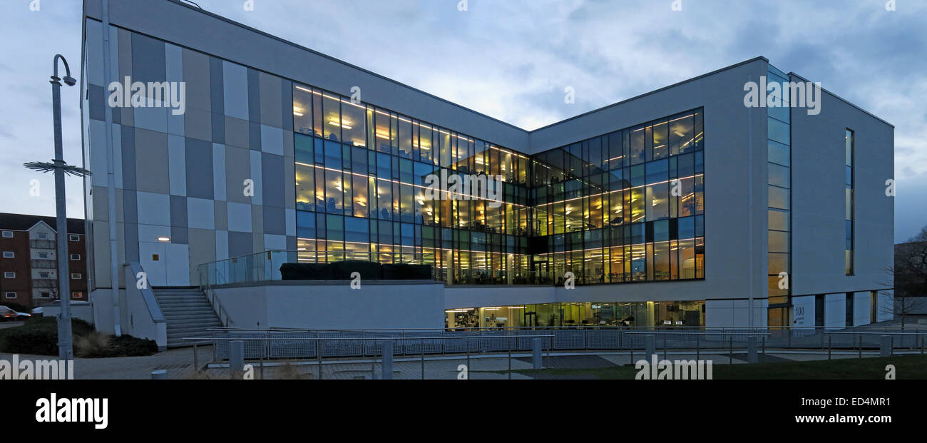 WHG head office, 100 Hatherton St, Walsall, Black Country, England, UK (Walsall Housing Group) Stock Photo