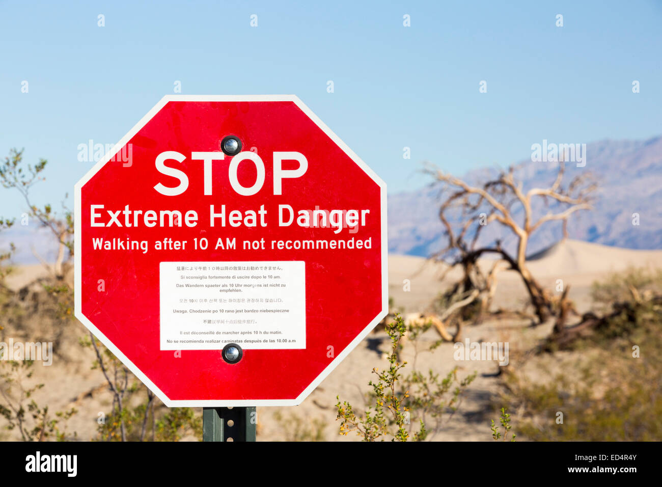 Stop Extreme Heat Danger Stock Photos & Stop Extreme Heat Danger