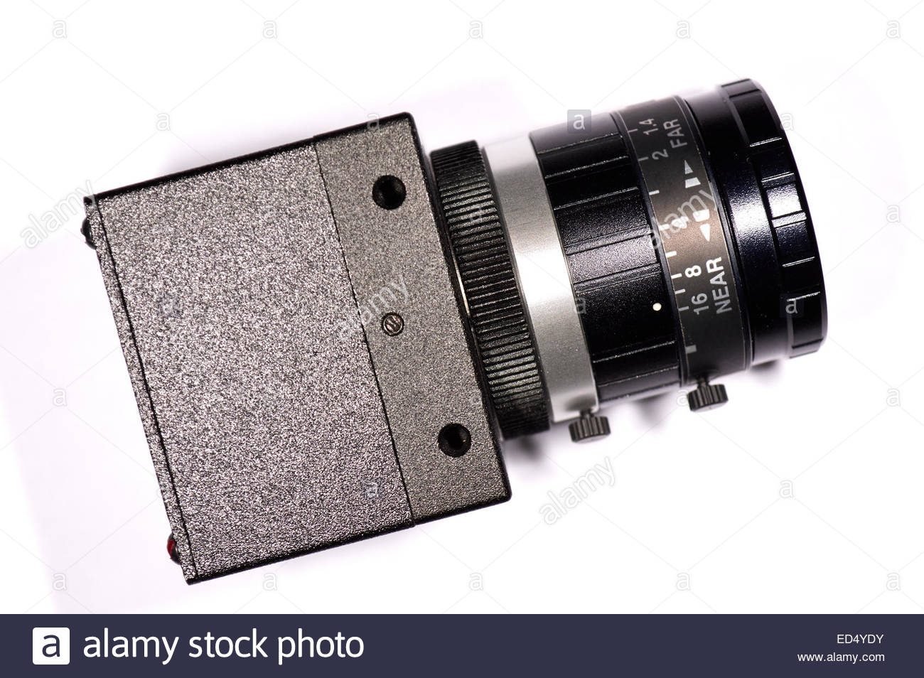 Particular the focus to camera for scan dental - Stock Image