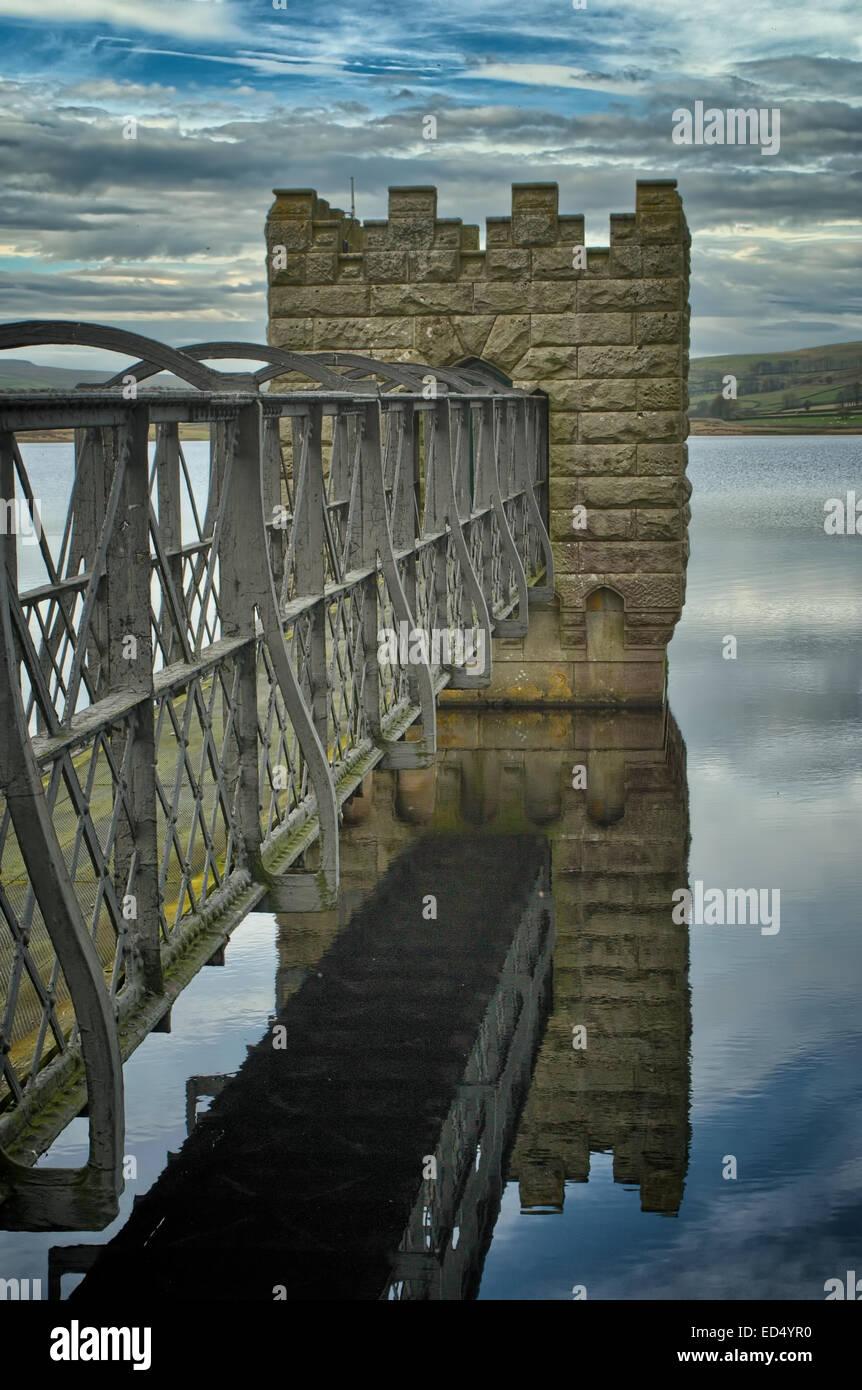 Hury Reservoir in Baldersdale, Teesdale, County Durham - Stock Image