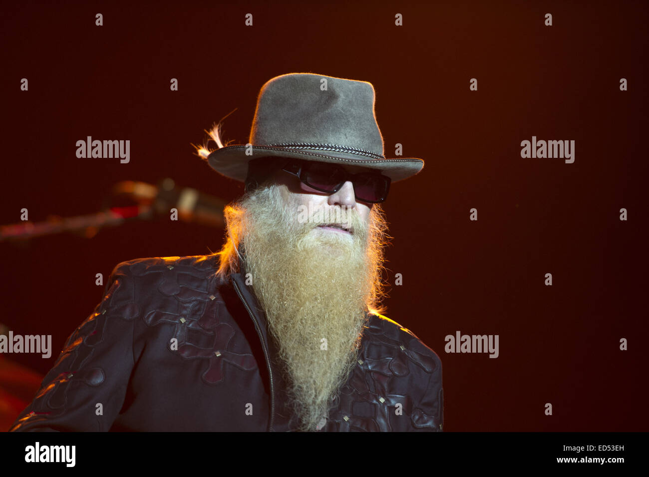 sale hot sale online shop best sellers ZZ Top performing live on stage at the Heineken Music Hall ...