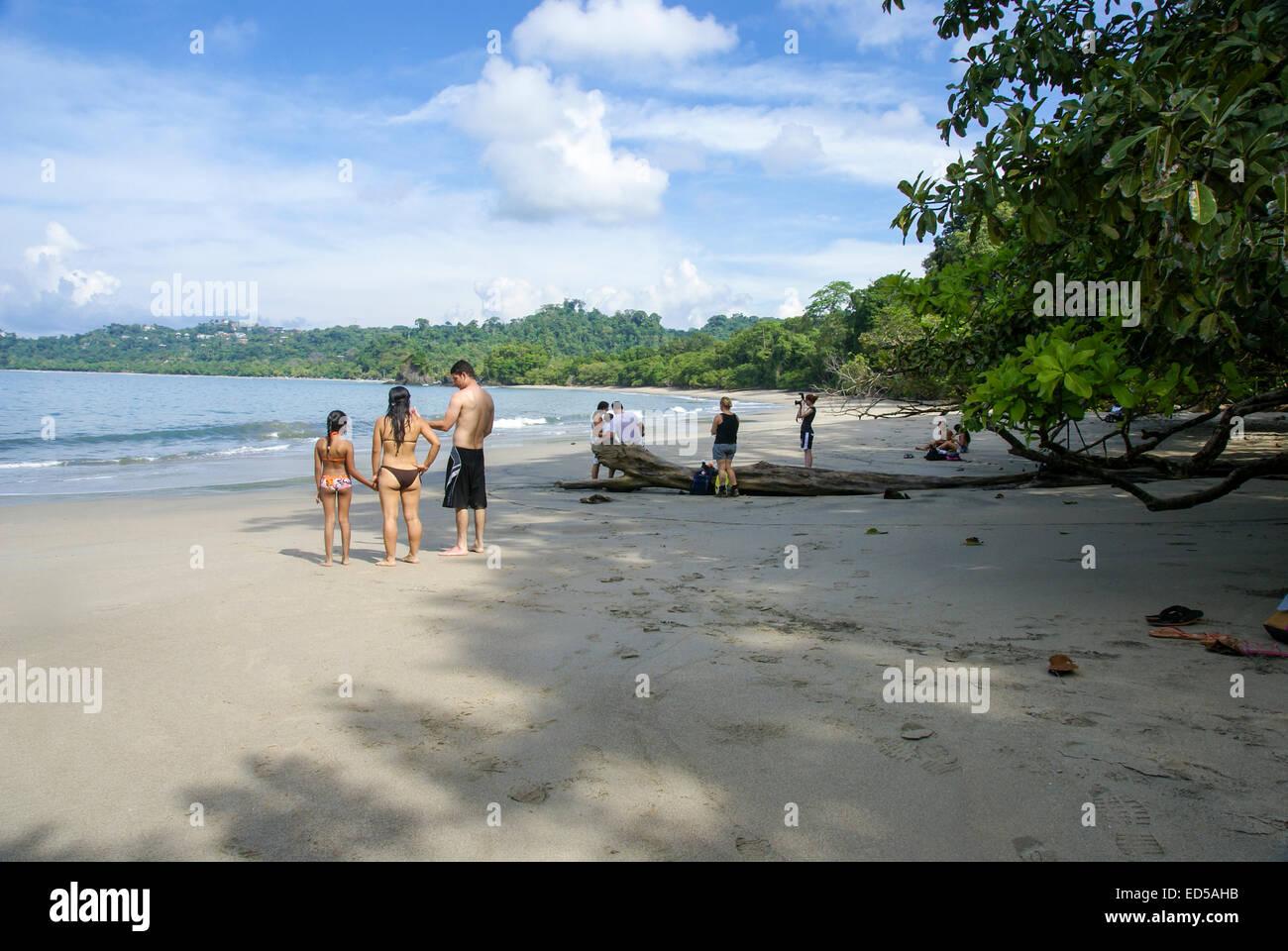 Manuel Antonio National Park, (Parque Nacional Manuel Antonio), Costa Rica - Stock Image