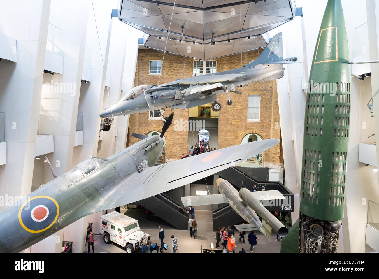 The Imperial War Museum, London, England, UK - Stock Image