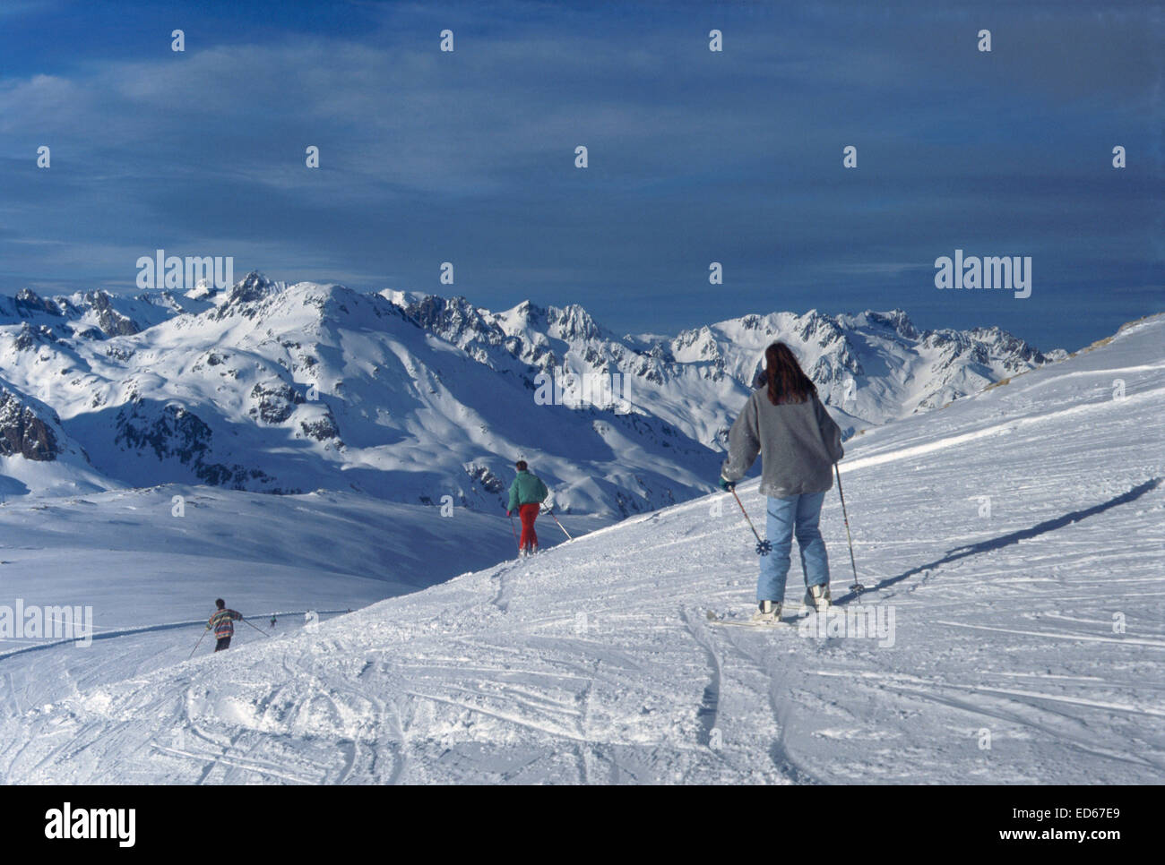 grenoble france skiing stock photos & grenoble france skiing stock
