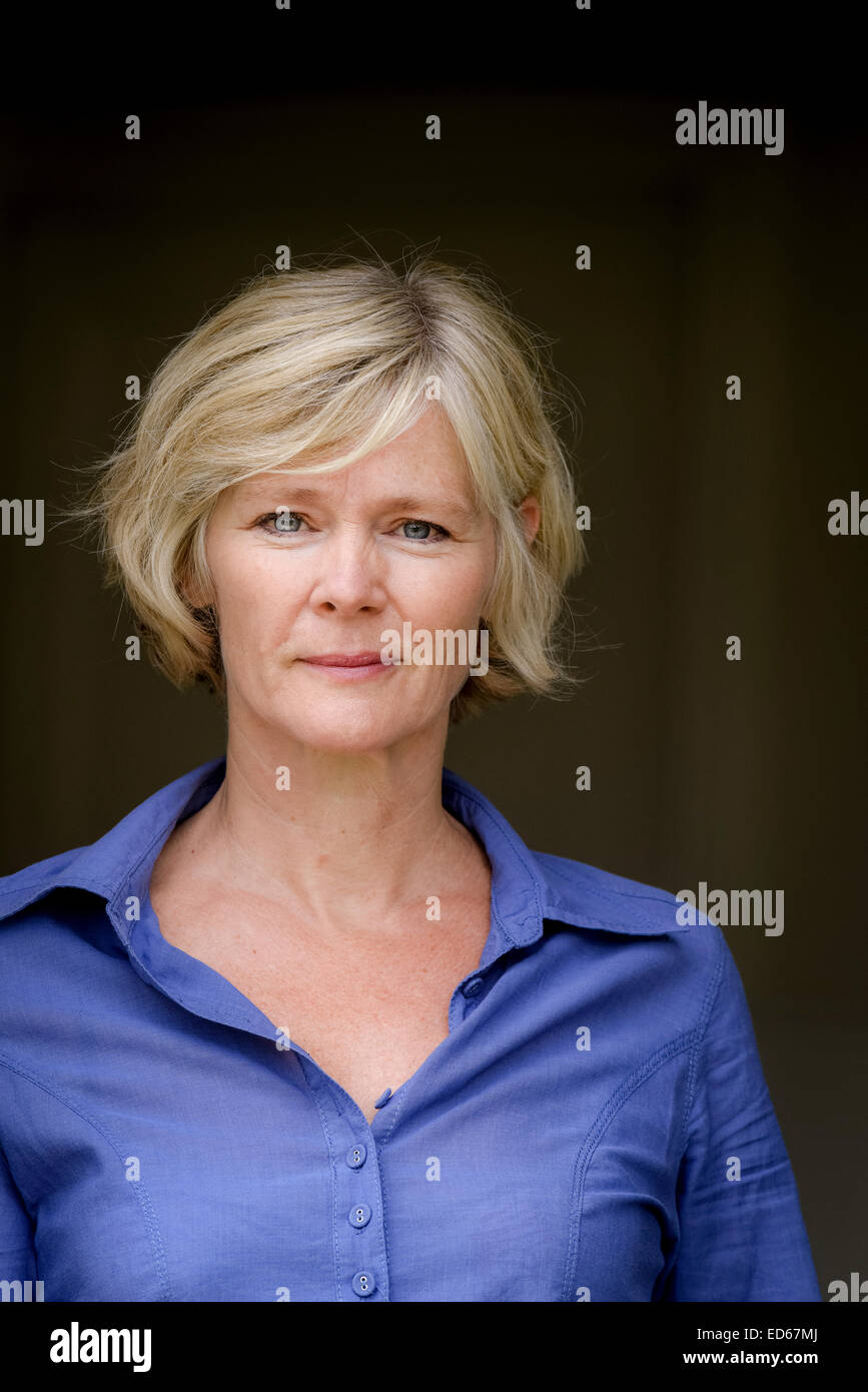 Actress Clare Holman In Rye East Sussex Uk Stock Photo