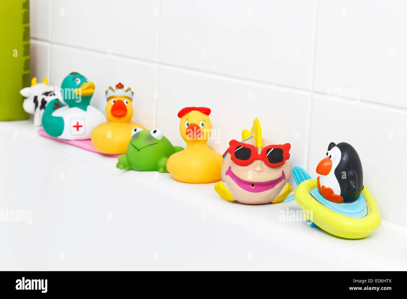 Bath Toys Rubber Plastic Stock Photos & Bath Toys Rubber Plastic ...