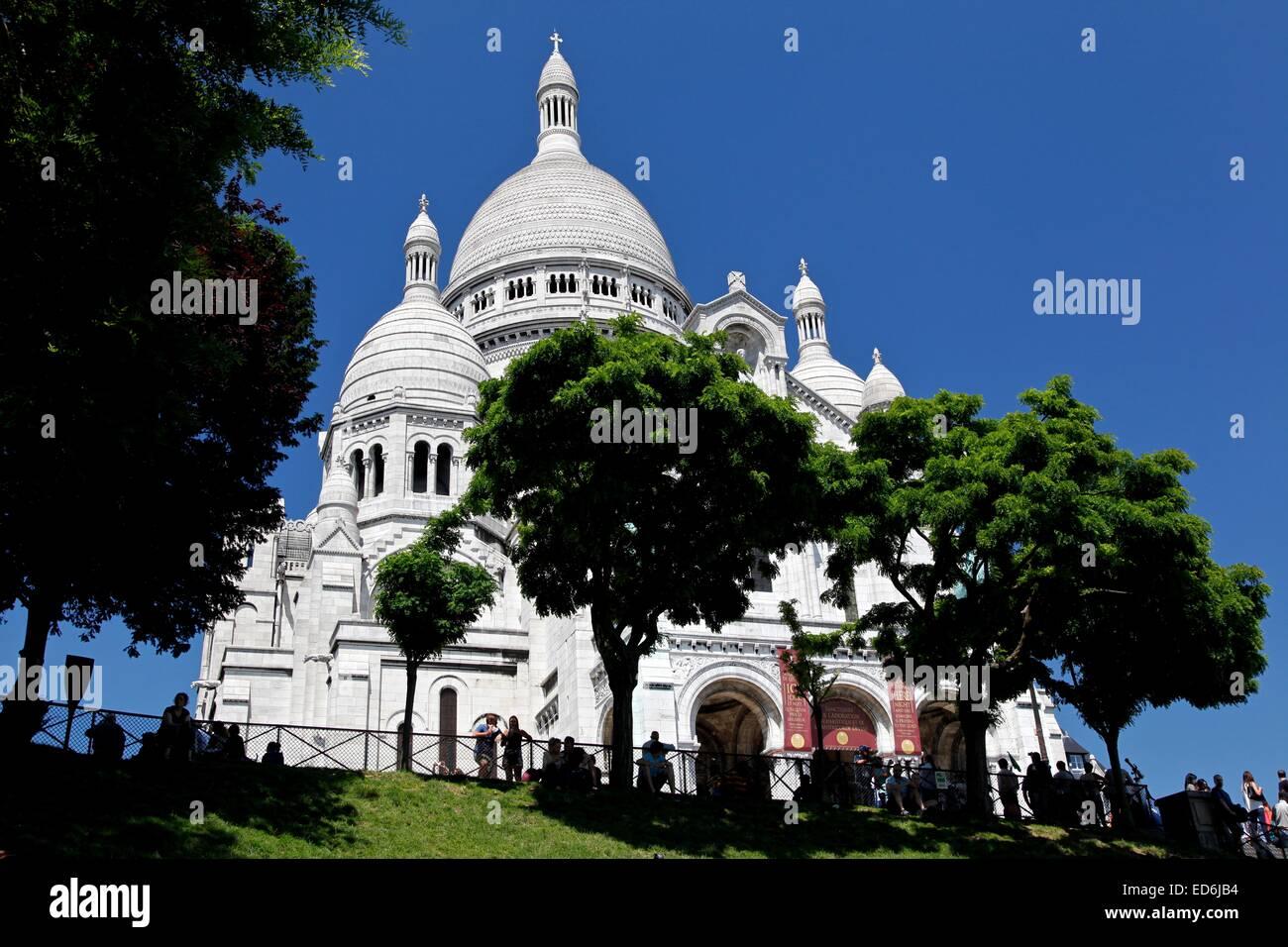 Basilica of the Sacré Cœur on Montmartre