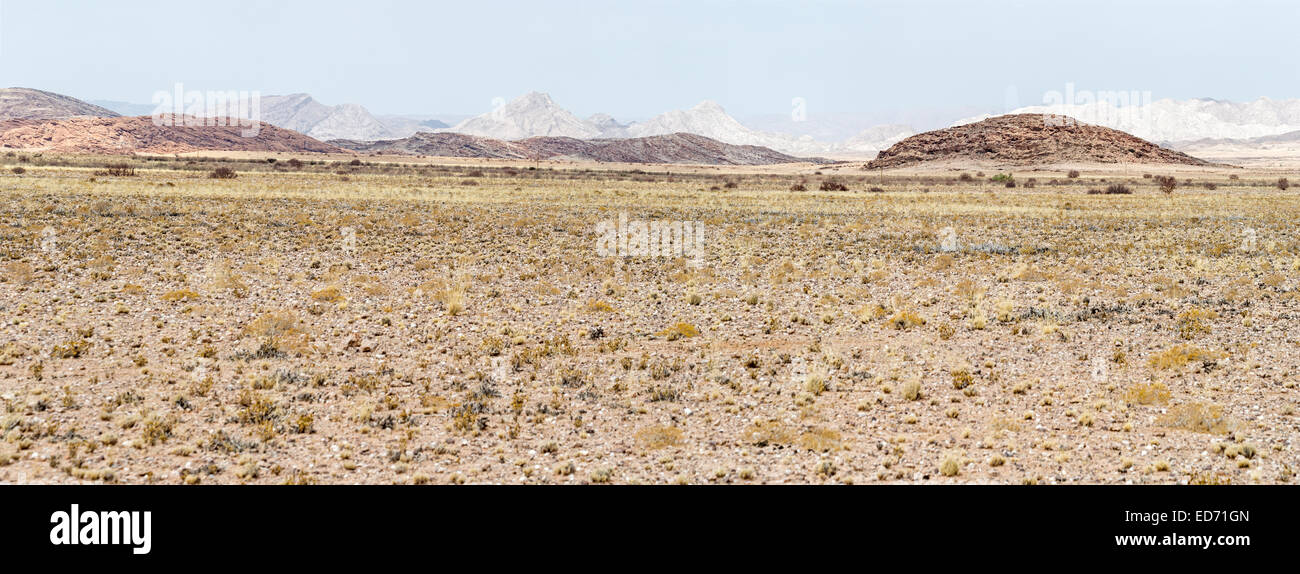 Mountains along C26 to Windhoek Namibia - Stock Image