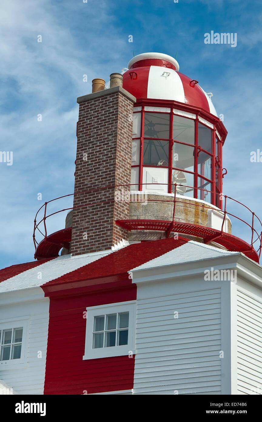 Bonavista  lighthouse, Newfoundland, Canada, - Stock Image