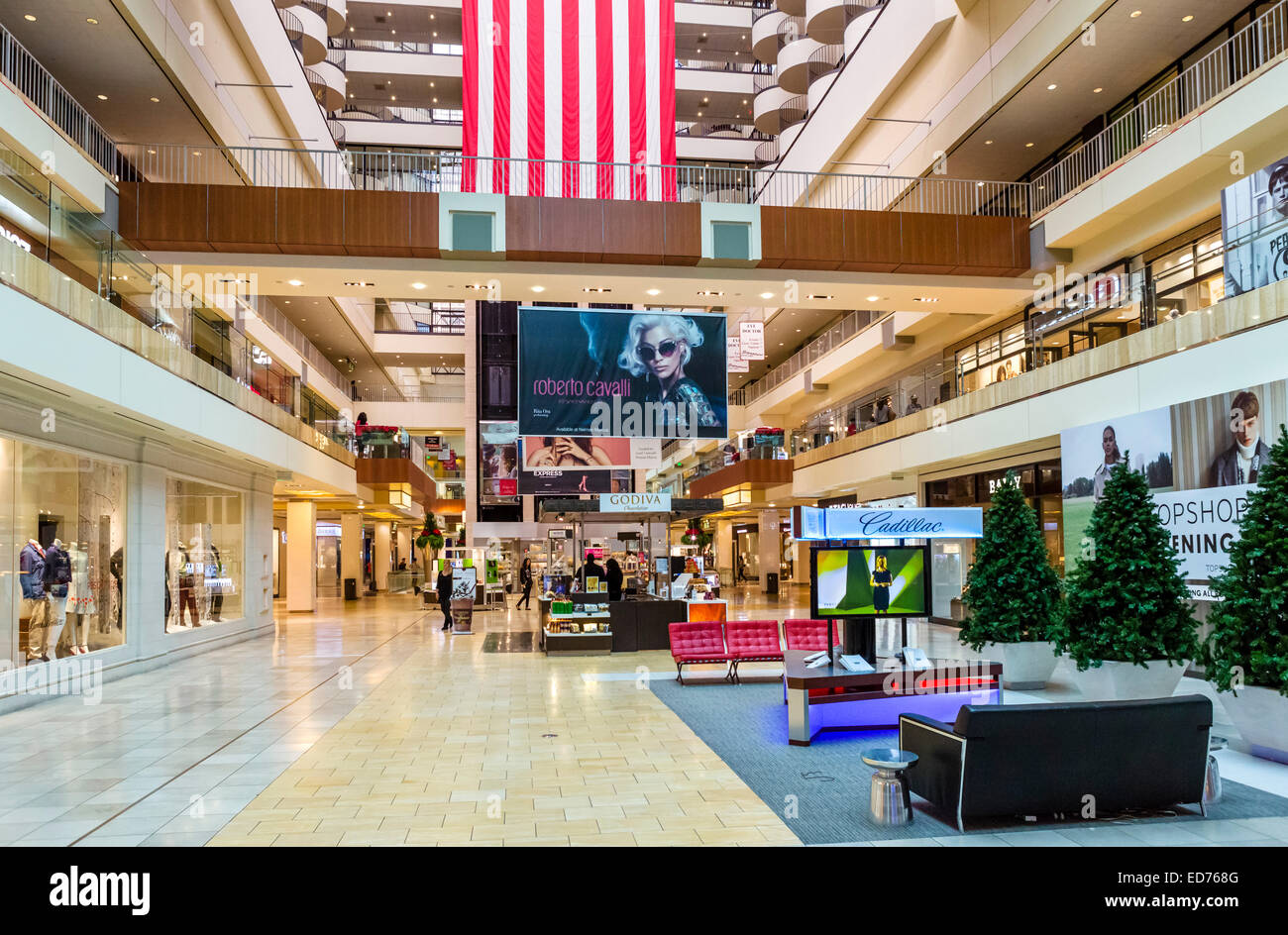 interior of the galleria shopping mall houston texas usa stock photo 76990608 alamy. Black Bedroom Furniture Sets. Home Design Ideas