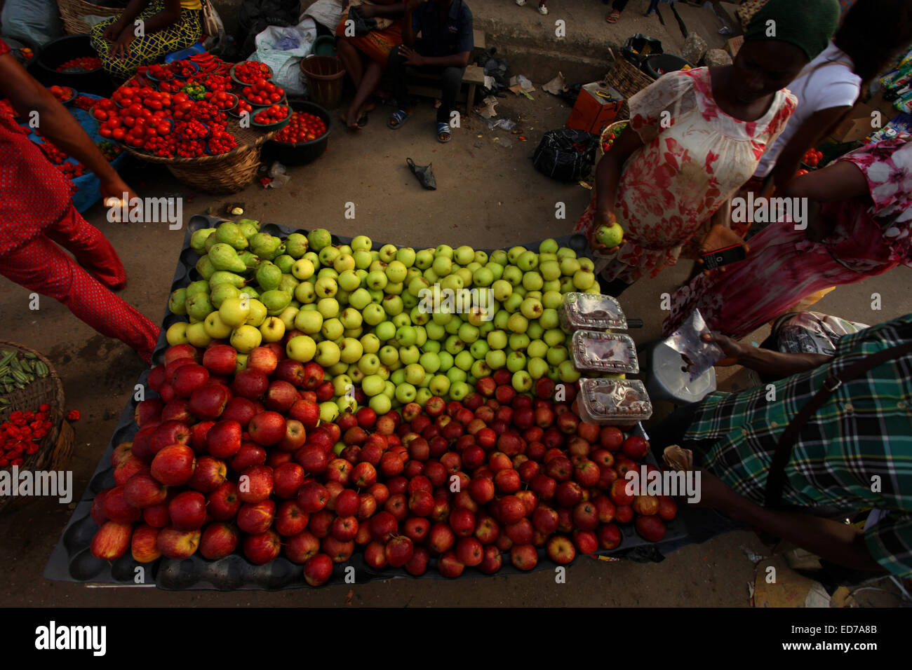 Local Fruit Market - Stock Image