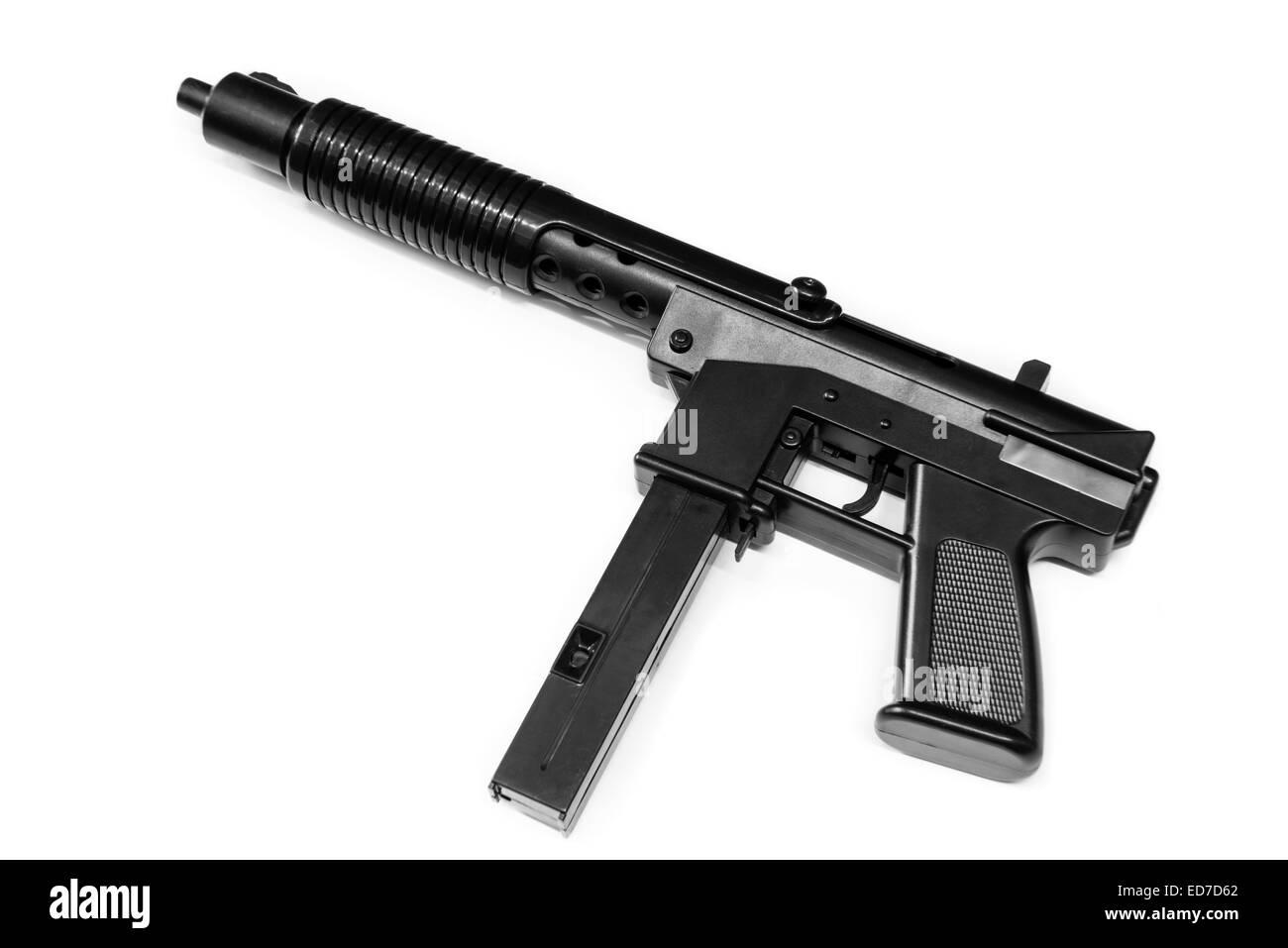 Airsoft Gun Stock Photos Images Alamy Sig 556 Assault Rifle Model Kit Toys Toy Image