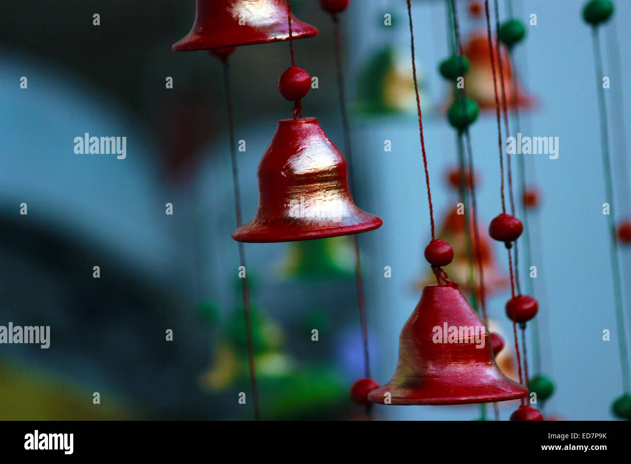 background, bell, chime, clipping, cut, isolated, knockout, life, nobody, object, one, out, path, ring, ringing, - Stock Image
