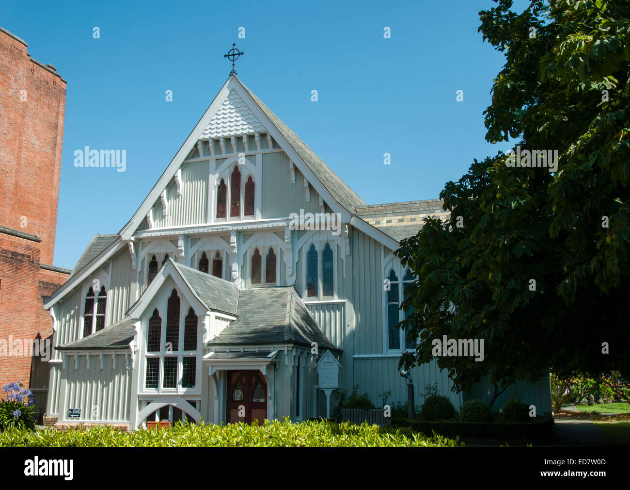 Churches In New Zealand Stock Photos & Churches In New