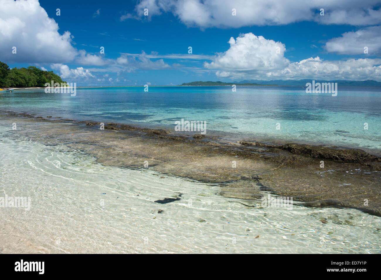 Melanesia, Makira-Ulawa Province, Solomon Islands, island of Owaraha or Owa Raha (formerly known as Santa Ana). - Stock Image