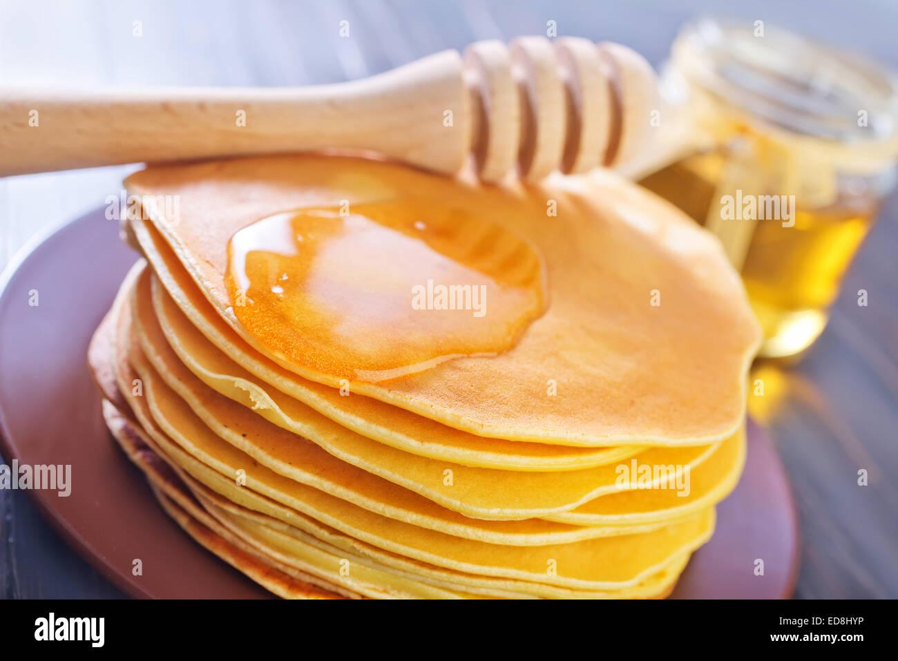 pancakes - Stock Image