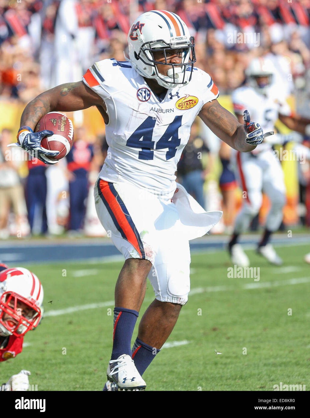 Cameron Artis-Payne Auburn Tigers Football Jersey - Navy