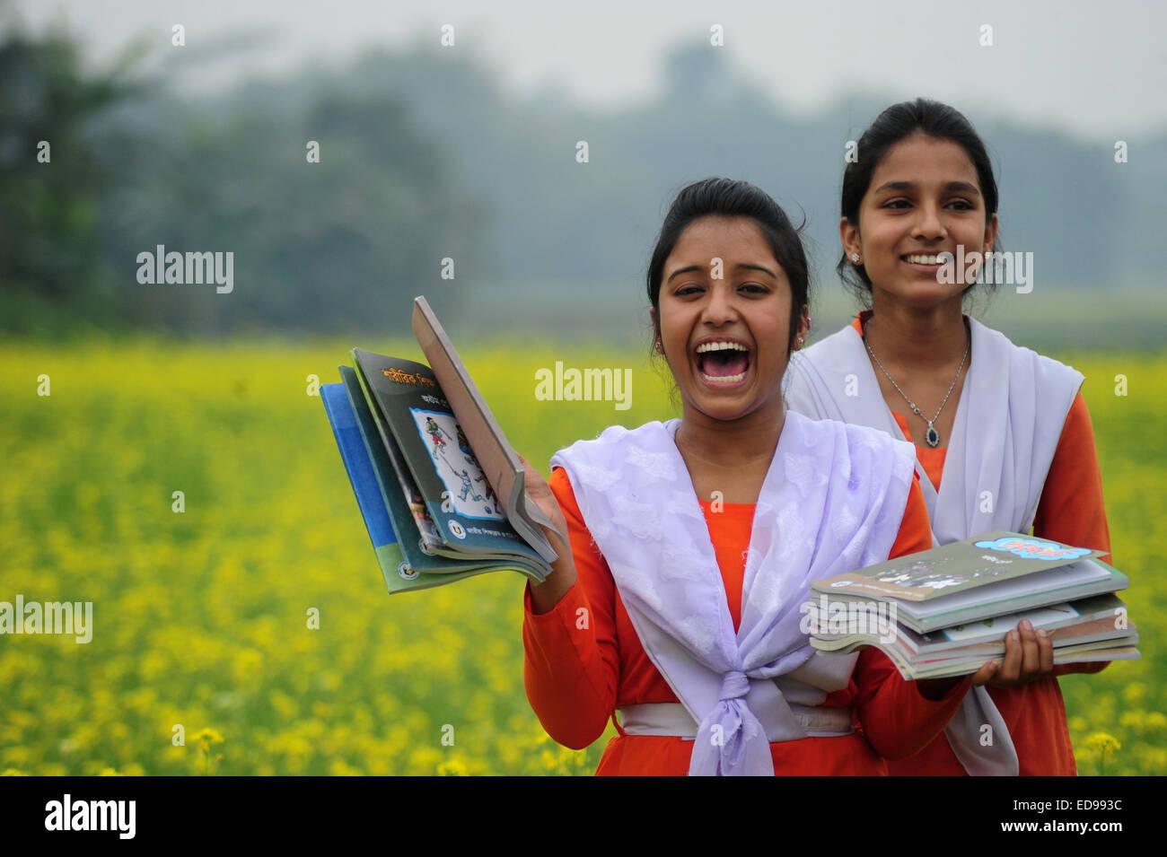 Bangladeshi village girls — 1