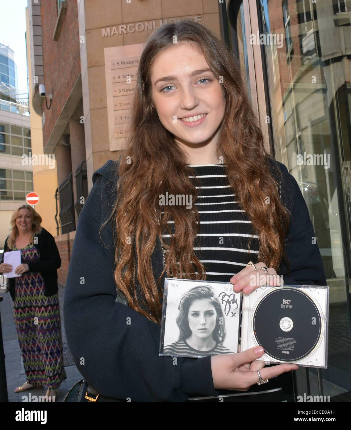 Guests at Today FM included singer Birdy with her 'Fire