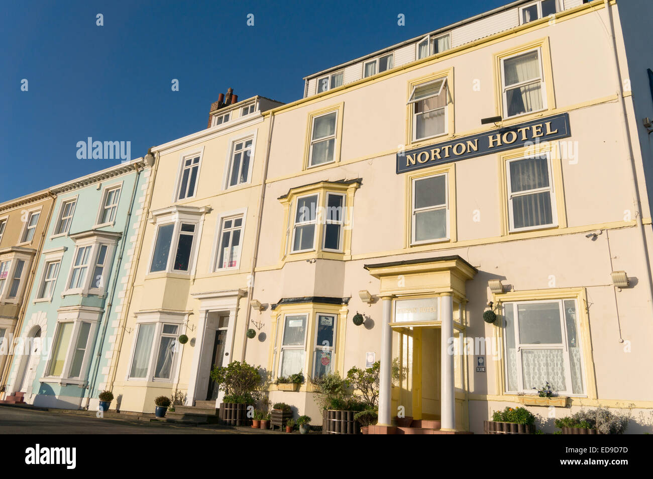 Norton Hotel, Seaton Carew, north east England, UK Stock Photo