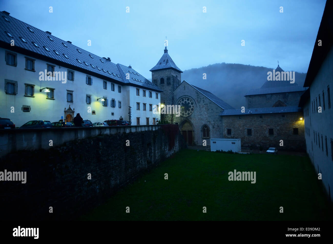 Roncesvalles, Way of St. James - Stock Image
